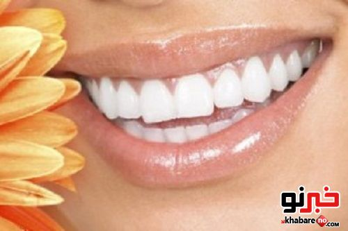 سفیدی دندان با پوست این میوه پاییزی