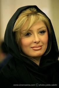 Niosha Zeighami 3 200x300 چهره متفاوت نیوشا ضیغمی در برنامه زنده رود