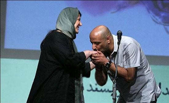 وقتی امیر جعفری دست همسرش را بوسید! + عکس