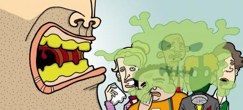 روشهای رهایی از بوی بد دهان بعد از خوردن سیر و پیاز
