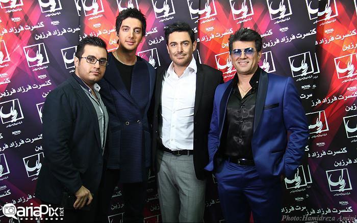 کنسرت فرزاد فرزین با حضور گلزار و احسان علیخانی آبان 92