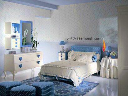 بهترین دکوراسیون برای اتاق خواب دختر خانم ها