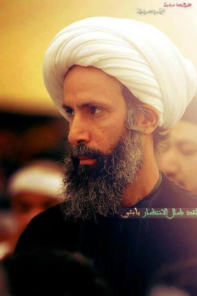 """حکم اعدام آیت الله شیخ """"نمر باقر النمر"""" رهبر شیعیان عربستان هفته آینده اجرا می گردد"""
