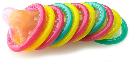 تاخیر در انزال زودرس با کاندوم