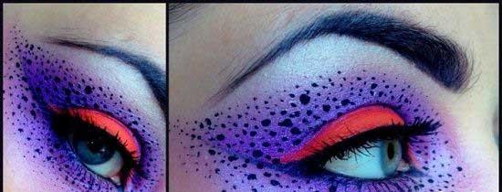 سری جدید آرایش چشم های عجیب و دیدنی