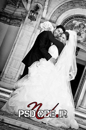 عکس عروس و داماد ( ژست عروس و داماد )