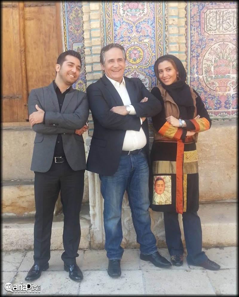 تک عکس جدید از مجید مظفری و دخترش نیکی مظفری در شیراز