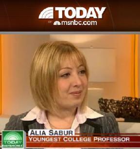 آلیا صبور نابغه ۱۹ ساله ایرانی،جوانترین پروفسور زن آمریکا