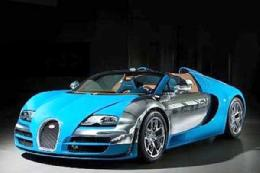 سریعترین خودرو افسانهای جهان+تصاویر