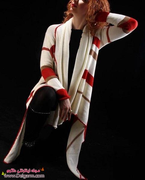 جدیدترین مدلهای مانتو بافت زنانه