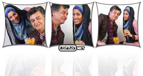 عکسهای جدید از رضا رویگری به همراه همسرش