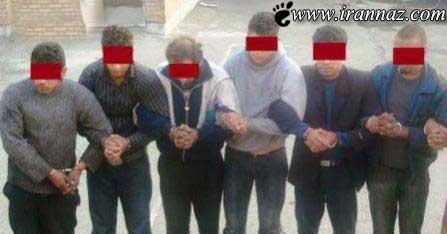 خانه ی فساد تبریز و دستگیری افراد آن + تصویر
