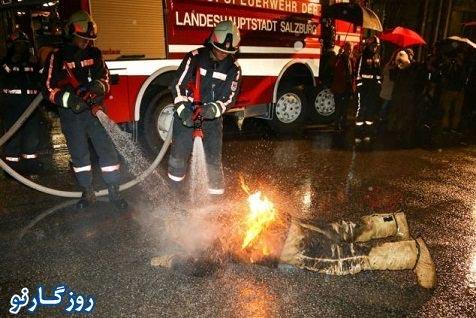 رکوردشکنی با آتش زدن همسر + عکس