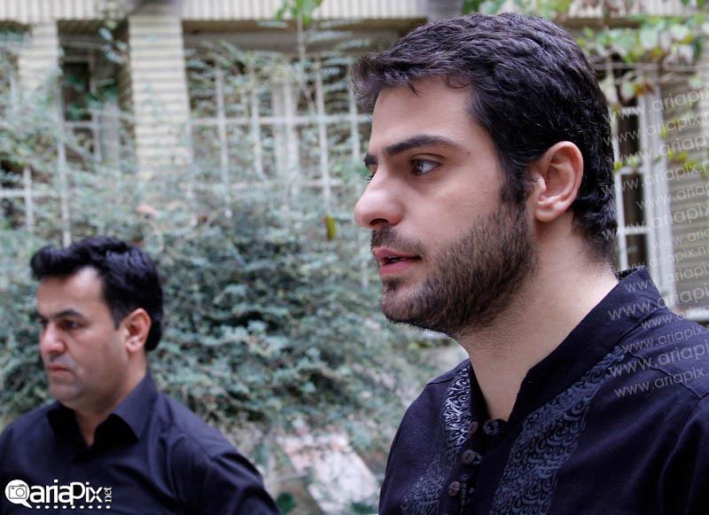 علی ضیا در محرم 97