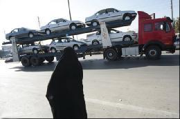 آغاز صادرات خودرو در مرز مهران