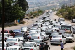 ترافیک سنگین در محور کرج – قزوین