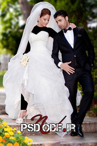 ژست عکاسی1 فیگور عروس داماد