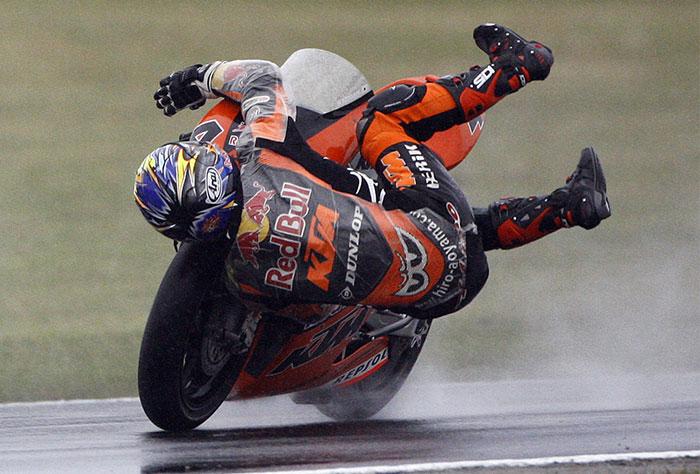 تصاویر دیدنی از مسابقات موتورسواری گرند پریکس