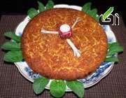 طرز تهیه تهچین گوجه و بادمجان؛ غذای گیاهی