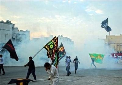 یورش نیروهای امنیتی آل خلیفه به مراسم عزاداری حسینی در بحرین