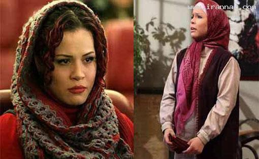 تفاوت چهره بازیگران زن ایرانی در پشت و جلوی دوربین