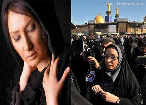 ظاهر متفاوت بازیگران زن ایرانی در واقعیت و جلوی دوربین