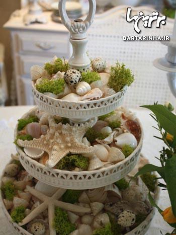 تزئین میز ناهارخوری شیک و زیبا (۳)