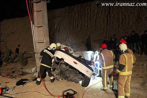 تصادف ناگوار این مادر و دختر در تهران + تصویر