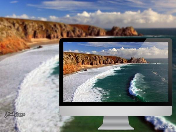 تفاوت پس زمینه کامپیوتر شما و پس زمینه طبیعت در چیست ؟