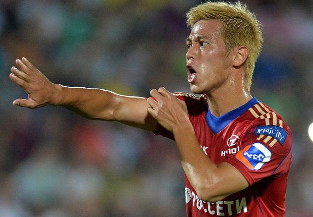 کیسوکه هوندا عنوان برترین گلزن فوتبال آسیا در رقابت
