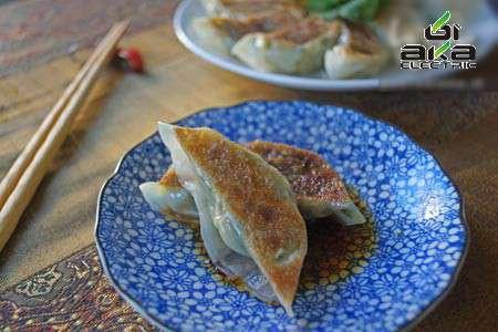 جیوزا, غذای محبوب ژاپنی با طعم میگو جیوزا,غذا
