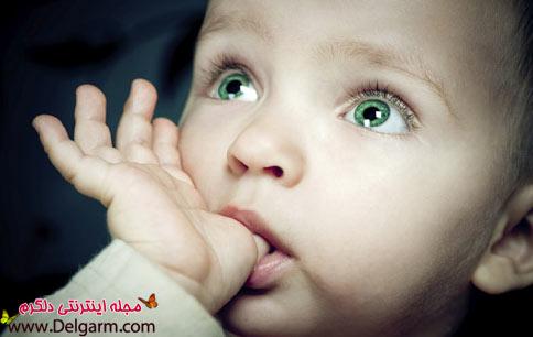 به چه دلیل کودکان انگشت خود را میمکند ؟