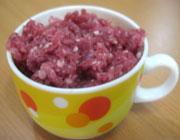 کوکو سیبزمینی با گوشت قلقلی