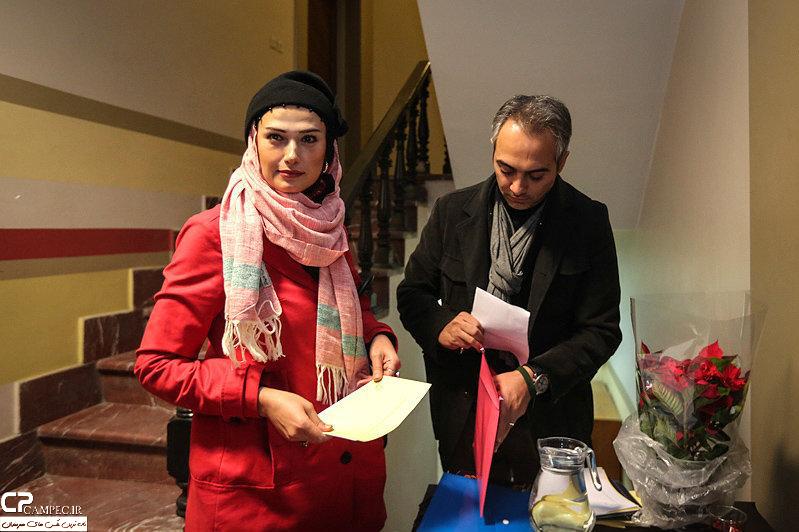 علی قربانزاده و لادن مستوفی