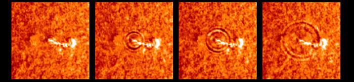 تصاویری حیرت انگیز از خورشید در نمای نزدیک