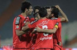 پیروزی پرسپولیس مقابل الوند همدان در نیمه اول