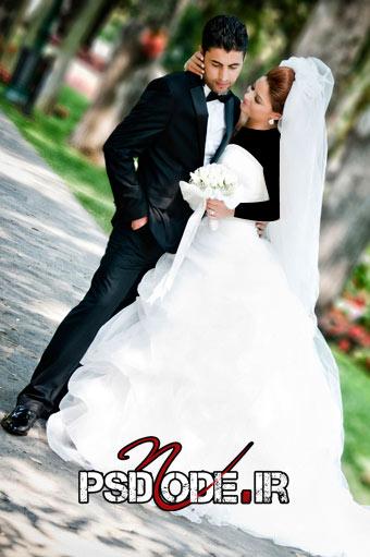 عکس عروس و داماد فیگور عروس داماد