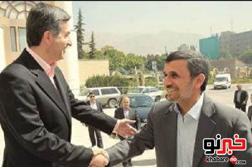 احمدینژاد در جنت آباد!