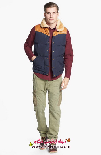 مدلهایی از لباس اسپرت زمستانه مخصوص آقایان