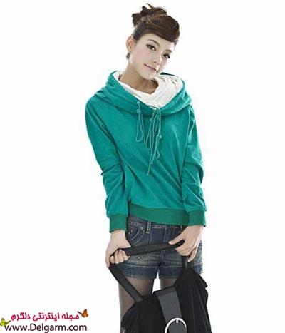 مدل های جدید سویشرت دخترانه 92