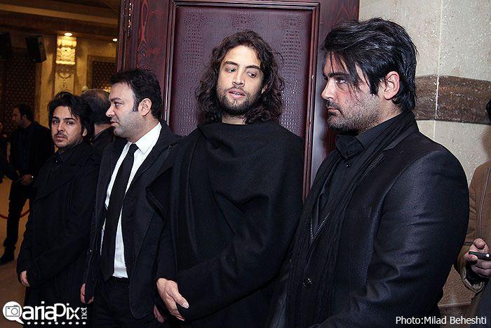 مراسم ختم نسیم حشمتی همسر بنیامین خواننده ایرانی