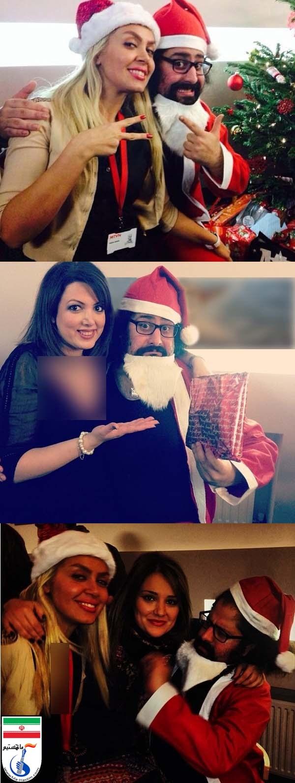 کریسمس پارتی کارکنان من و تو + تصاویر
