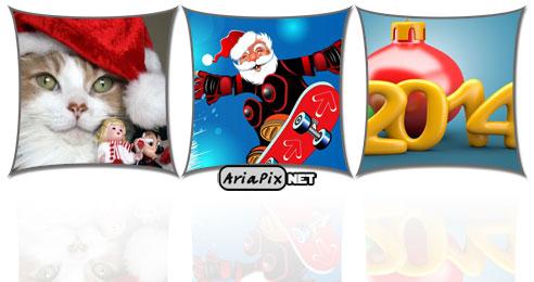 عکس های جدید کریسمس و سال نو میلادی ۲۰۱۸