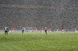 برف استانبول برای گالاتاسرای خوش یمن بود/ حذف یوونتوس از لیگ قهرمانان اروپا
