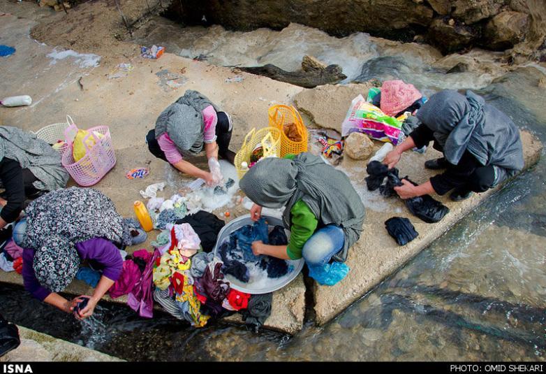 تصاویری دیدنی از زندگی در روستای چناران - بجنورد