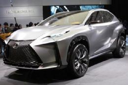 عرضه خودرو جدید لکسوس در ژنو