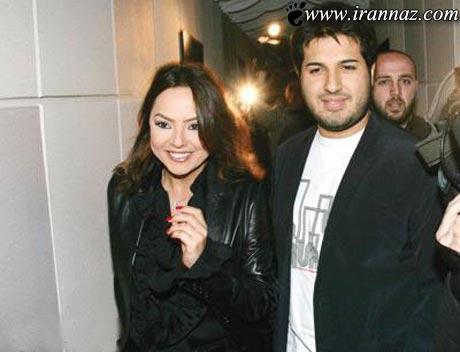 شوهر این خواننده ی مشهور عرب ایرانی است + تصویر