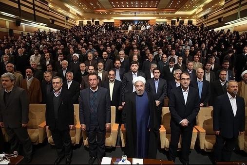 عکس های حواشی سخنرانی روحانی در دانشگاه