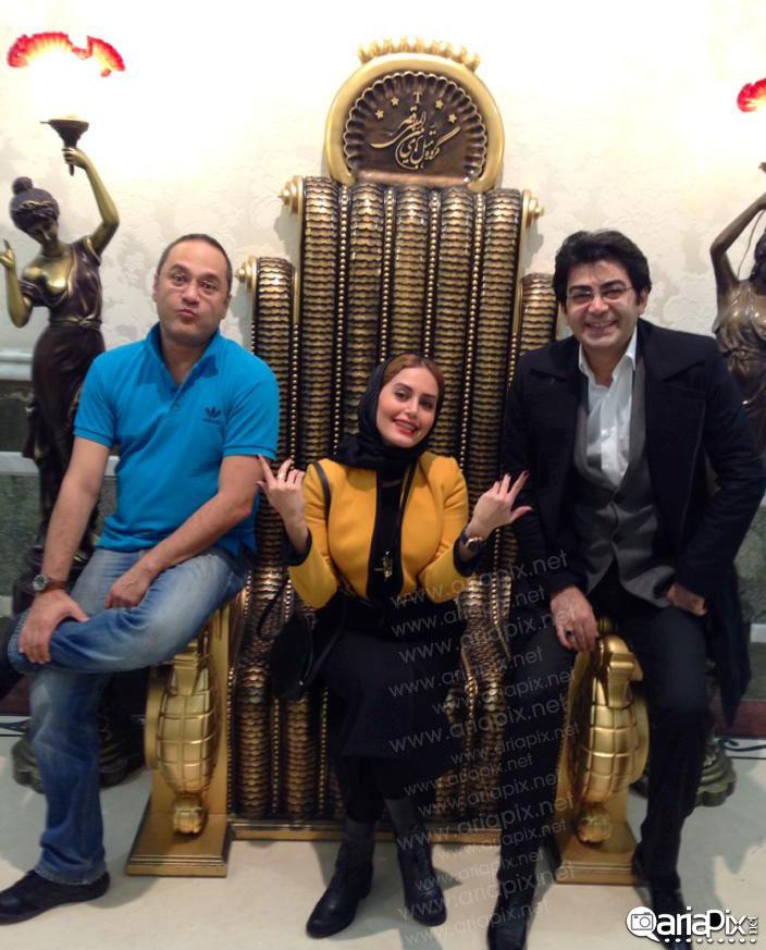 الناز شاکردوست,فرزاد حسنی و رامبد جوان در مشهد / عکس