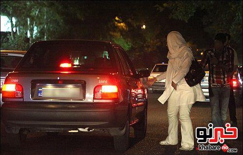 زنان خیابانی تهران، کم شدند